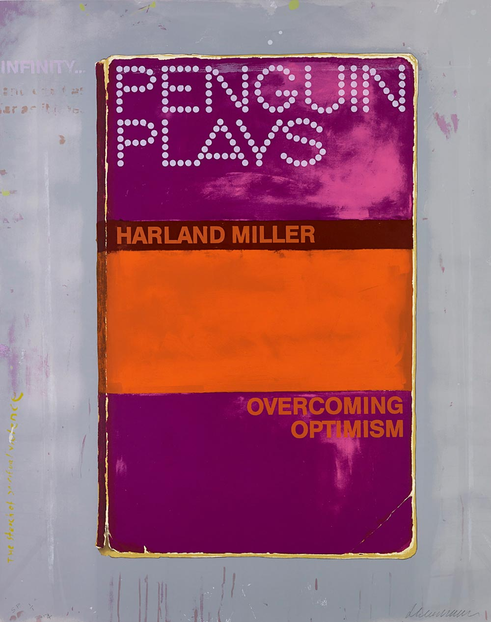 Harland Miller Overcoming Optimism