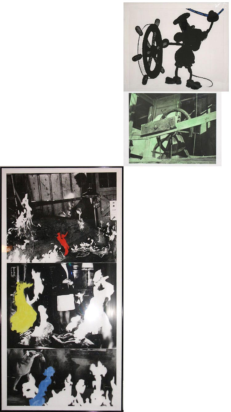 John Baldessari Helmsman (with Various Fires)