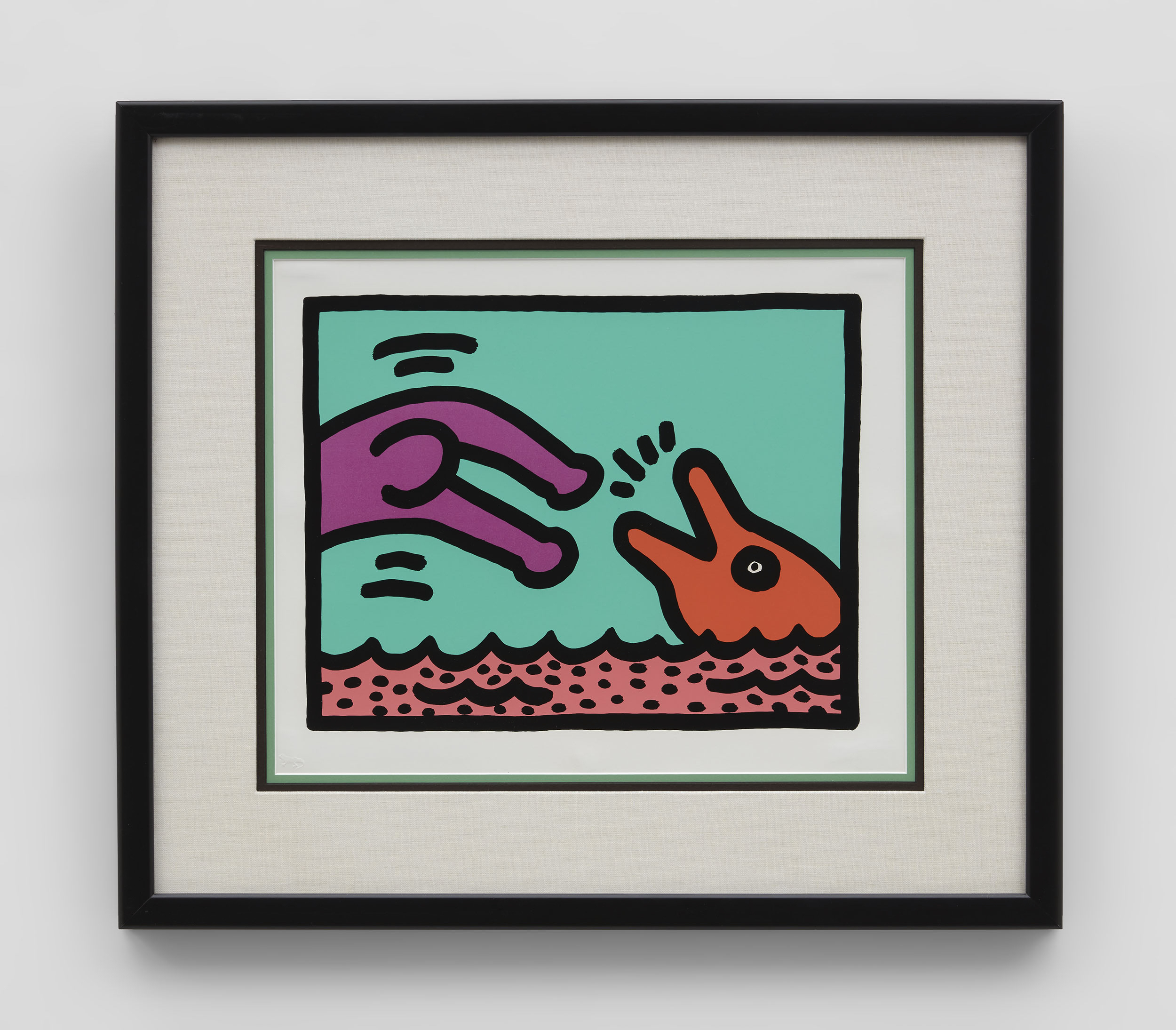 Keith Haring Pop Shop V (Quad 1)