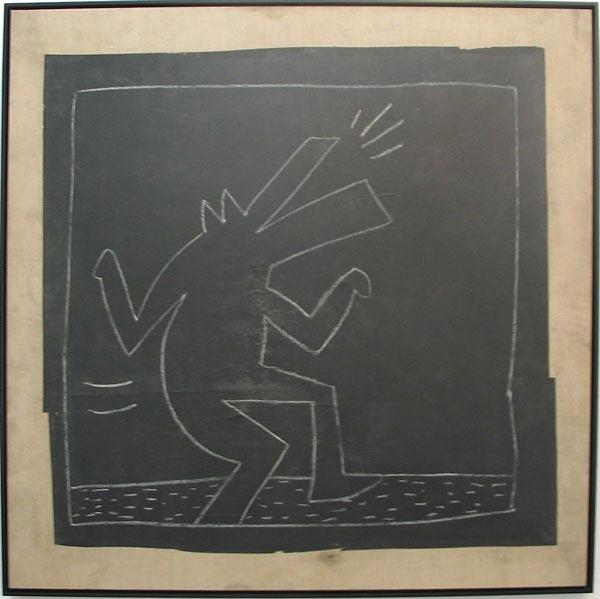 Keith Haring Untitled (Barking dog)