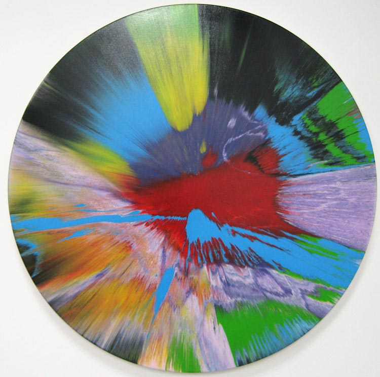 Damien Hirst Beautiful Innocent Slap Dash Painting