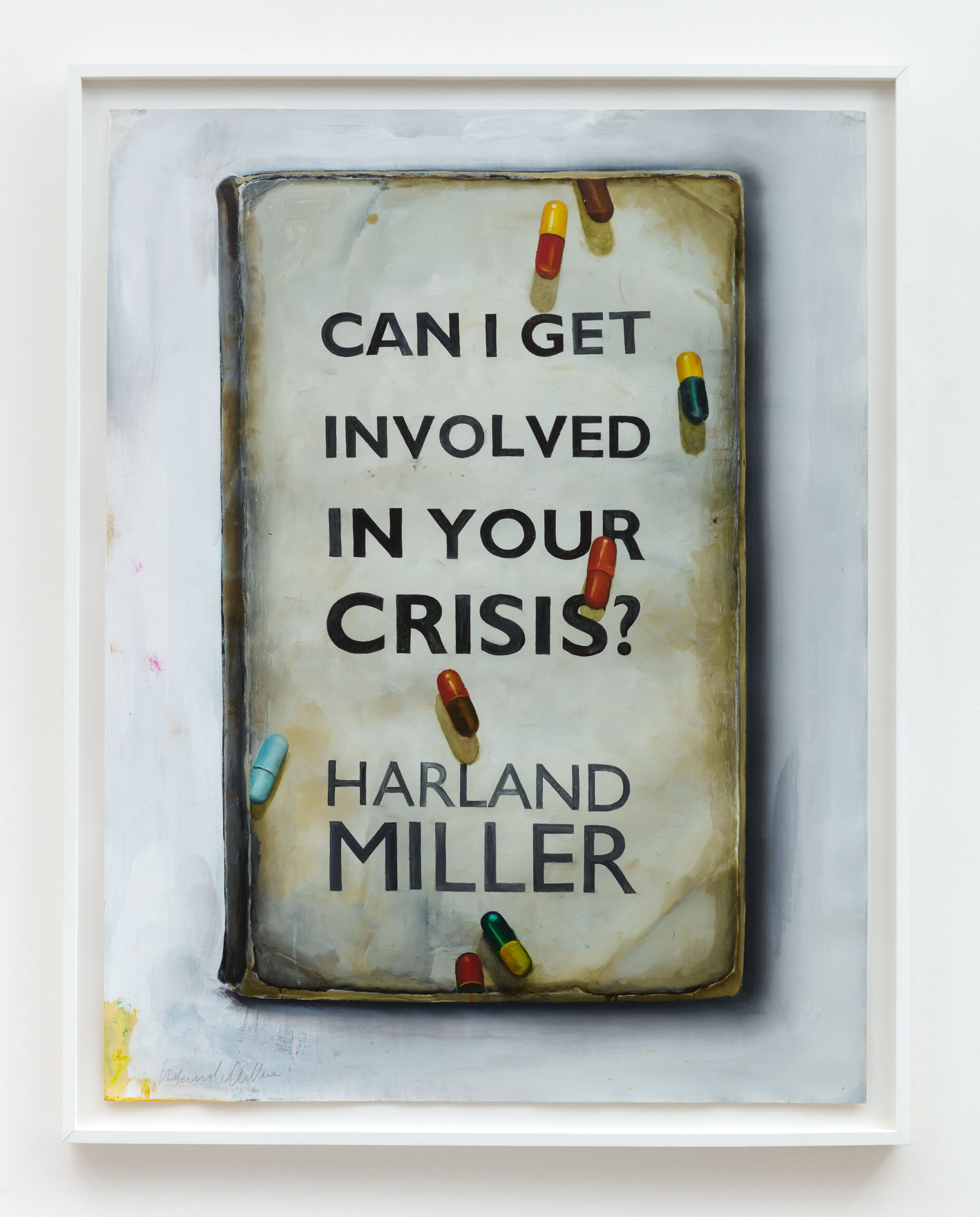 Harland Miller Can I Get Involved in Your Crisis?