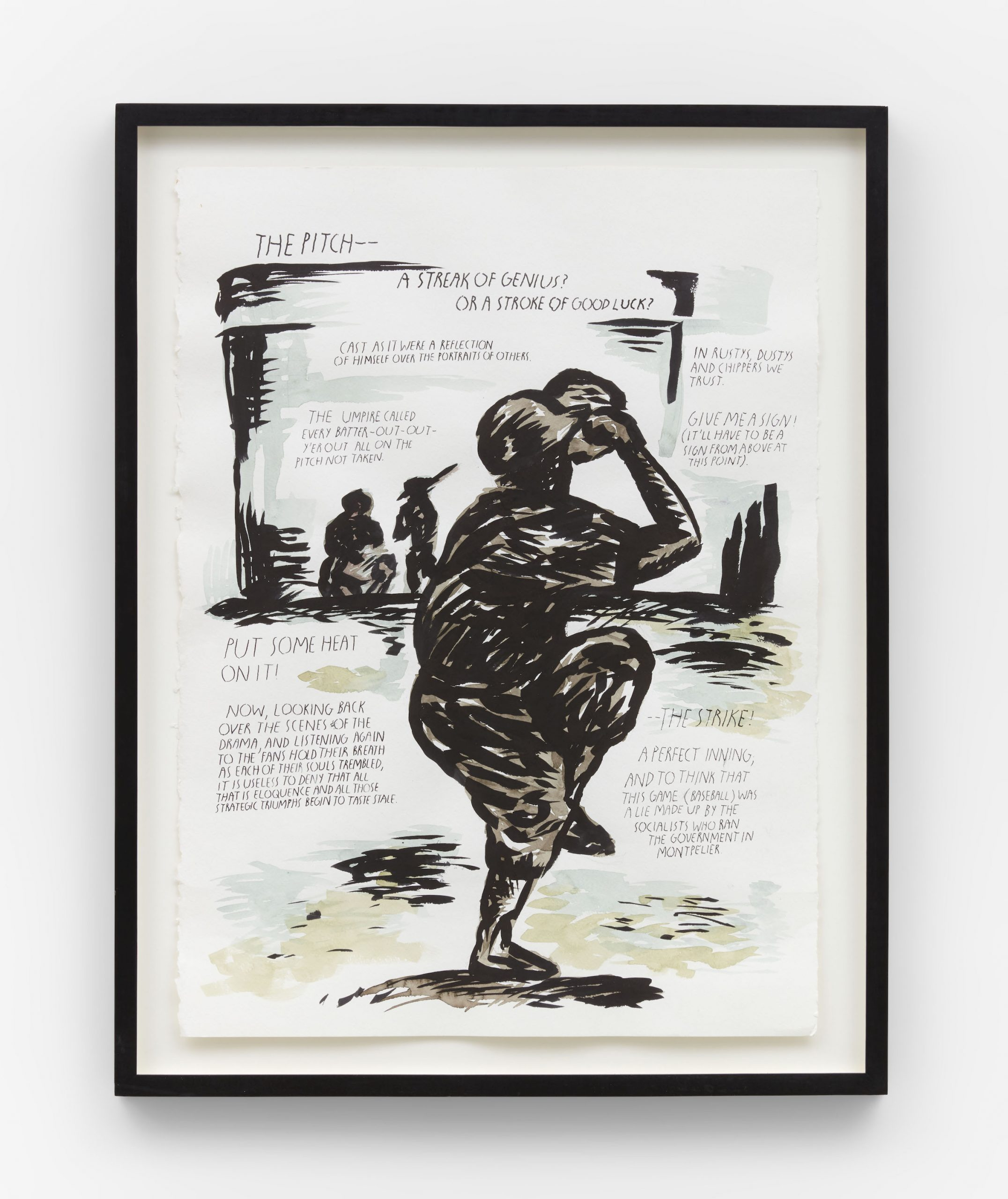 Raymond Pettibon No title (The pitch)