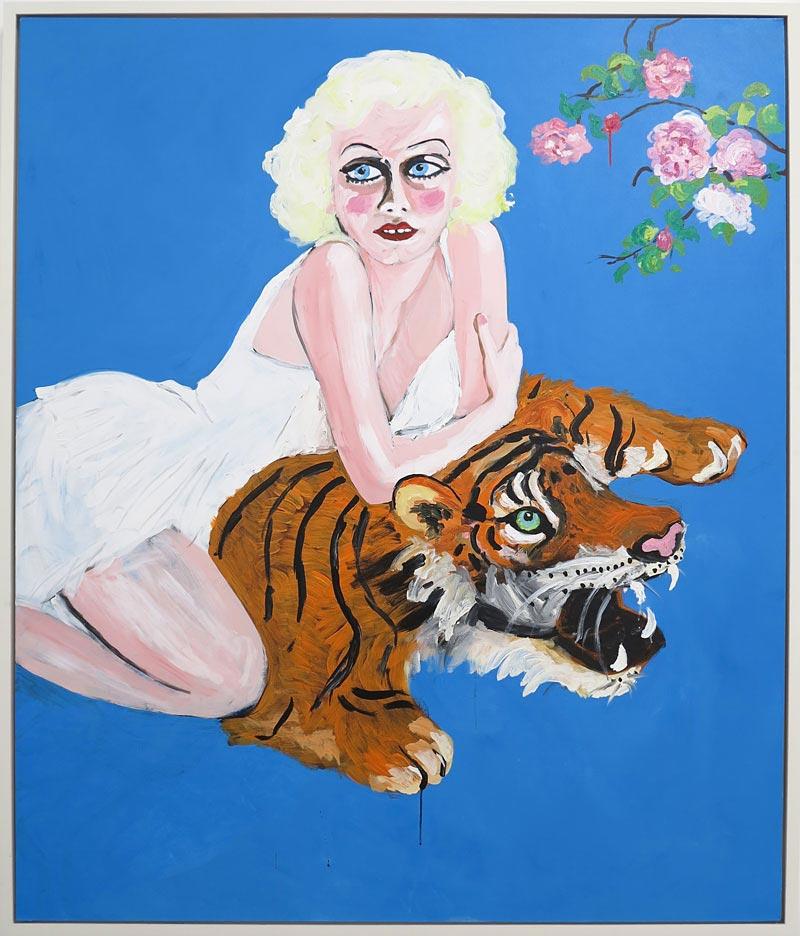 Stella Vine Jean Tiger Skin