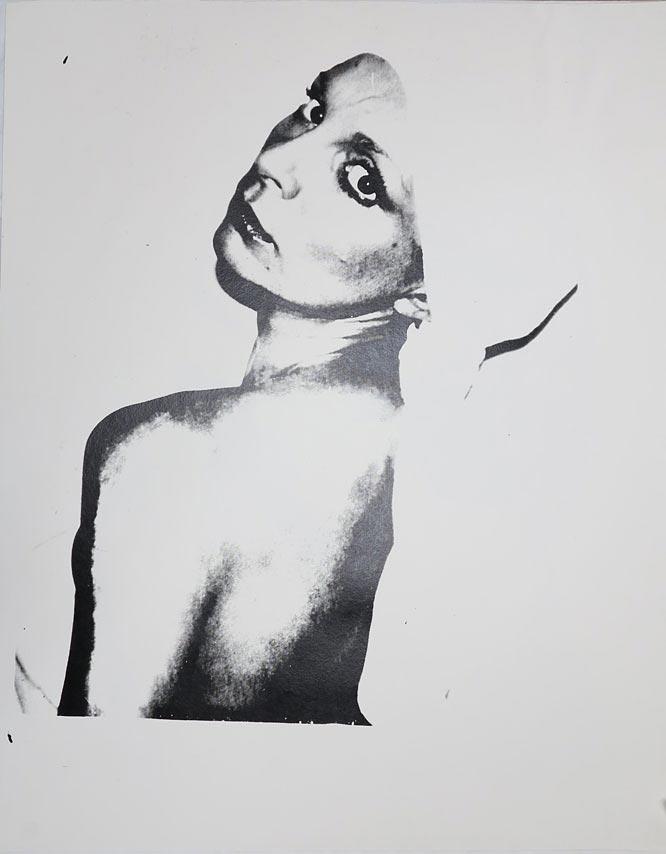 Andy Warhol Portrait of Marie-Laure Zoppas Gardoni