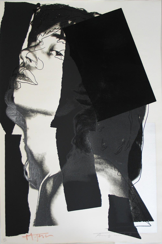 Andy Warhol Mick Jagger (F&S 144)