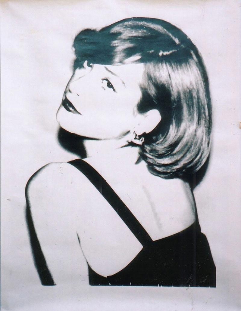 Andy Warhol Portrait of Nicki Lane Weymouth